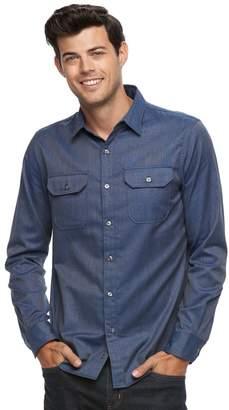 Apt. 9 Men's Slim-Fit Flex Stretch Button-Down Shirt