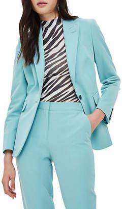 Topshop Single Button Front Suit Jacket