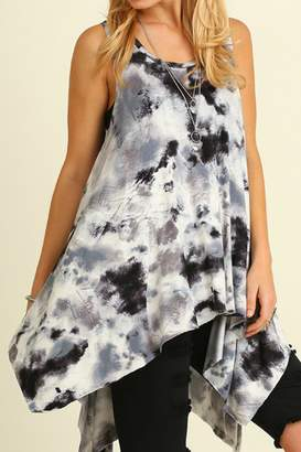 Umgee USA Tie Dye Sleeveless Tunic