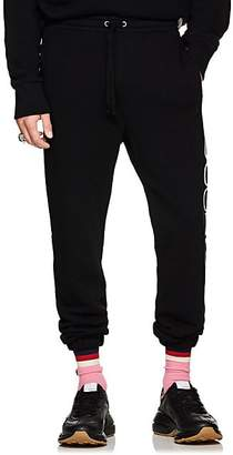 Gucci Men's Logo Cotton French Terry Sweatpants - Black