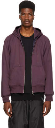 3.1 Phillip Lim Reversible Purple Hoodie Jacket