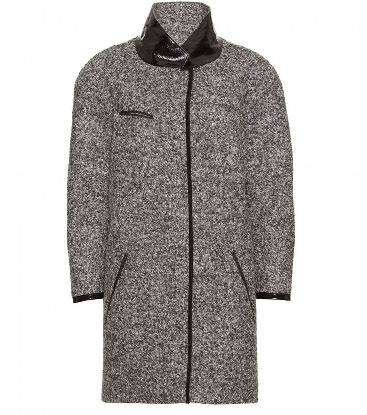 Isabel Marant KEPLER BOUCLÉ WOOL-BLEND COAT