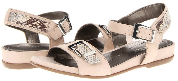 Naturalizer Cairo (Tender Taupe Softbuck/Dew Multi Printed Snake Suede) - Footwear