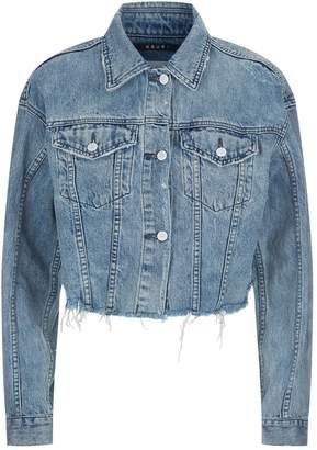 Ksubi Frayed Crop Denim Jacket