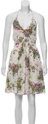 Anna Sui Sleeveless Printed Dress w/ Tags