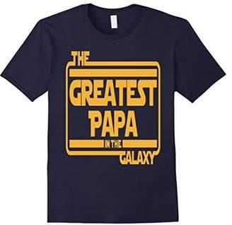 Mod-o-doc Greatest Papa in Galaxy Tshirt