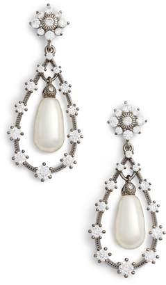 Nadri Simulated Pearl Drop Earirngs