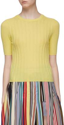 Vince Cashmere rib knit top