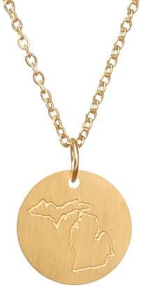 Victoria Emerson Michigan State Necklace