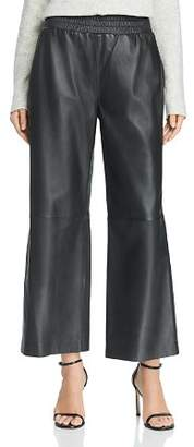 French Connection Alia Wide-Leg Leather Pants