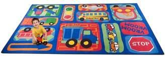 Kid Carpet Vroom Vroom Car Play Area Rug Kid Carpet