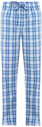 Derek Rose Ranga checked cotton pyjama trousers