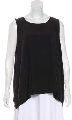 eskandar Silk Sleeveless Top