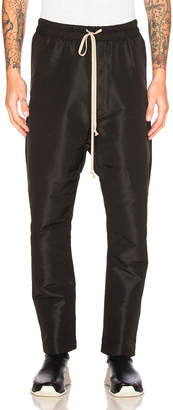 Rick Owens Drawstring Long Trousers $791 thestylecure.com