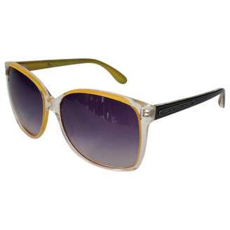 Marc by Marc Jacobs Yellow Plastic Sunglasses