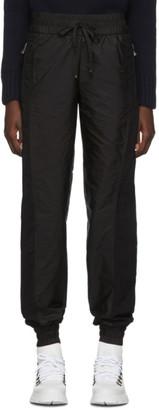 Moncler Black Nylon Lounge Pants