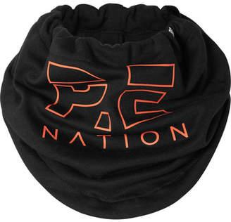 P.E Nation Dc Printed Jersey Snood - Black