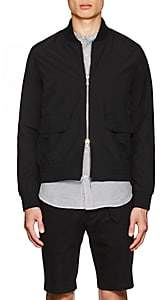 Officine Generale Men's Flynn Wool-Blend Bomber Jacket - Black