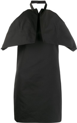 Givenchy ruffled mini dress