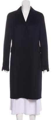 Akris Cashmere Knee-Length Coat