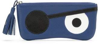 Sarah Chofakian leather Pirata sunglasses case