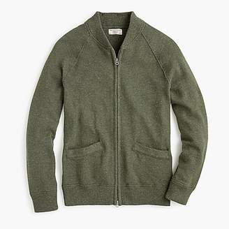 J.Crew Wallace & Barnes cotton-linen souvenir jacket