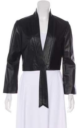 Veda Paneled Leather Jacket