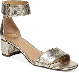 Franco Sarto Rosalina Two-Piece Block-Heel Dress Sandals Women's Shoes