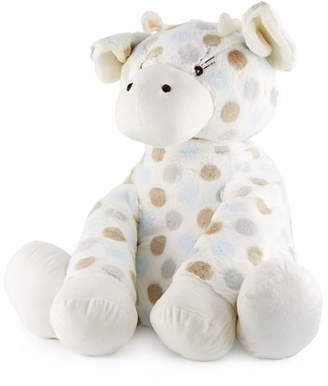Little Giraffe Big GTM Plush Polka-Dot Giraffe, Blue