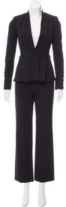 Cushnie et Ochs Structured Lace-Up Pantsuit