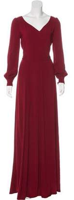 Co Long Sleeve Maxi Dress