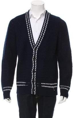 Tom Ford Cashmere Rib Knit Cardigan