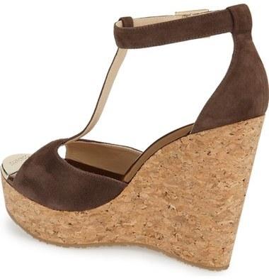 Jimmy Choo 'Pela' Cork Sandal