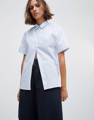 Wood Wood Eleni Short Sleeve Shirt