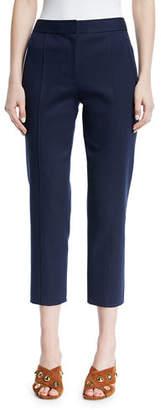 Tory Burch Vanner Slim Cropped Pants