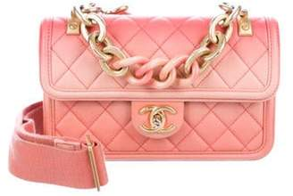 Chanel 2019 Sunset On The Sea Flap Bag Pink 2019 Sunset On The Sea Flap Bag