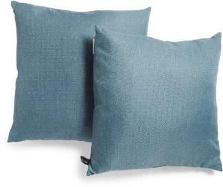 20x20 2pk Linen Look Pillow