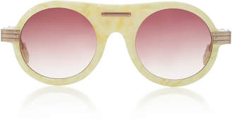 Morgenthal Frederics Rosie Assoulin X Herbie Round-Frame Sunglasses