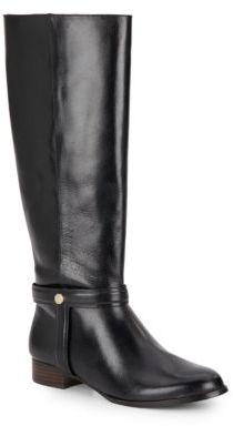 Valeblore Leather Riding Boots $289 thestylecure.com