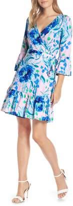 Lilly Pulitzer R) Misha Wrap Dress