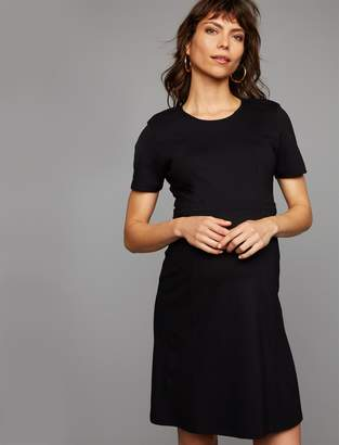 Isabella Oliver Pea Collection Rawlinson Ponte Maternity Dress