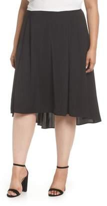 Sejour Flounce High/Low Skirt