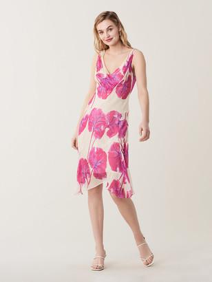 Diane von Furstenberg Dita Silk Knee-Length Dress
