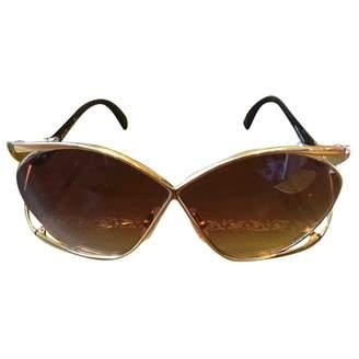 eddbfac9fd63 Christian Dior Gold Sunglasses For Women - ShopStyle UK