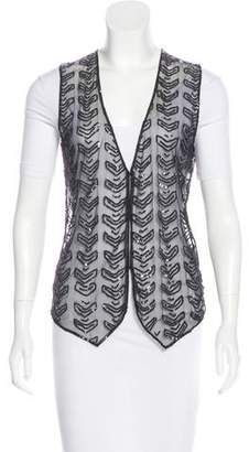 DAY Birger et Mikkelsen Sequined Semi-Sheer Vest