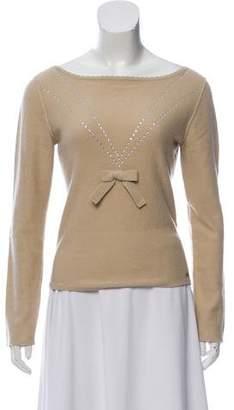 Sonia Rykiel Embellished Cashmere Sweater