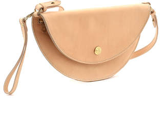 Il Bisonte Leather Moon Crossbody Bag