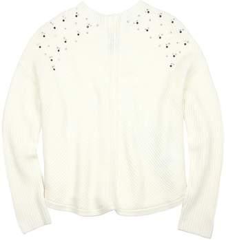 Mayoral Junior Girl's Rib Knit Pullover, Sizes 8-18