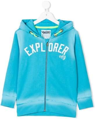 Vingino explorer print zipped hoodie