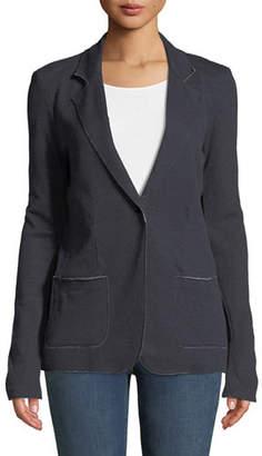 Neiman Marcus Majestic Paris for Cashmere Double-Face One-Button Jacket